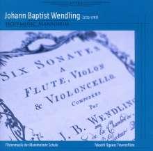 Johann Baptist Wendling (1723-1797): Kammermusik mit Flöte, CD