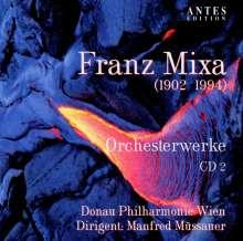 Franz Mixa (1902-1994): Symphonien Nr.3 & 5, CD