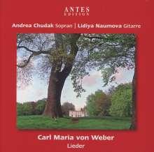Carl Maria von Weber (1786-1826): Lieder, CD