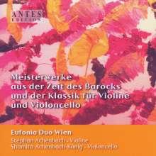 Stephan & Shamita Achenbach - Meisterwerke des Barocks und der Klassik für Violine & Violoncello, CD