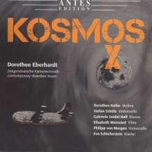 """Dorothee Eberhardt (geb. 1952): Kammermusik """"Kosmos X"""", CD"""