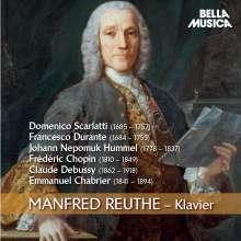Manfred Reuthe,Klavier, CD