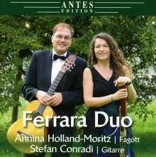 Musik für Fagott,Klavier & Gitarre, CD