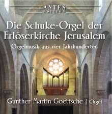 Gunther Martin Goettsche - Orgelmusik aus vier Jahrhunderten, CD
