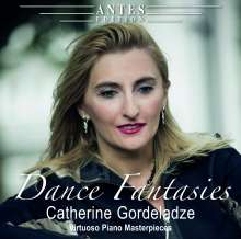 Catherine Gordeladze - Dance Fantasies, CD