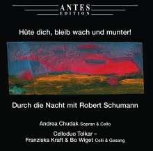 """Robert Schumann (1810-1856): Lieder """"Hüte dich, bleib wach und munter!"""", CD"""
