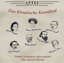 Das kroatische Kunstlied, CD