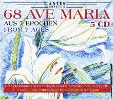 68 Ave Maria-Vertonungen aus 7 Epochen, 5 CDs