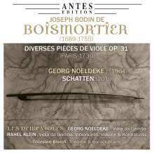 Joseph Bodin de Boismortier (1689-1755): Pieces de Viole op.31, CD