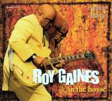 Roy Gaines: In The House - Live 2001, CD
