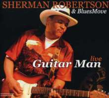 Sherman Robertson: Guitar Man Live, CD