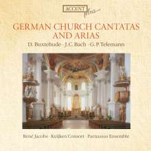Rene Jacobs - Deutsche Kirchenkantaten & Arien, CD