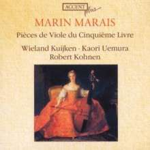 Marin Marais (1656-1728): Pieces de Viole Buch 5 (1725), CD