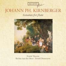 Johann Philipp Kirnberger (1721-1783): Sonaten für Flöte & Bc in C,es,G,g,B, CD