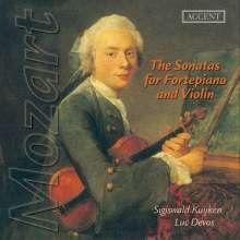 Wolfgang Amadeus Mozart (1756-1791): Sämtliche Sonaten für Violine & Klavier, 5 CDs