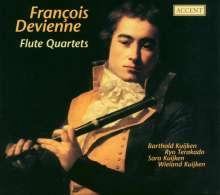 Francois Devienne (1759-1803): Flötenquartette op.66 Nr.1-3;op.16 Nr.3, CD