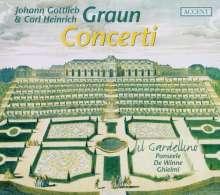 Johann Gottlieb Graun (1703-1771): Concerti, CD