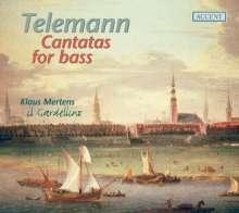 Georg Philipp Telemann (1681-1767): Kantaten für Bass, CD