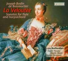 Joseph Bodin de Boismortier (1689-1755): Sonaten für Flöte & Bc.op.91 Nr.1-6, 2 CDs