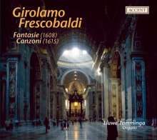 Girolamo Frescobaldi (1583-1643): Canzoni & Fantasie, CD