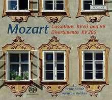 Wolfgang Amadeus Mozart (1756-1791): Cassationen KV 63 & 99, Super Audio CD