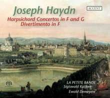 Joseph Haydn (1732-1809): Cembalokonzerte H18 Nr.3 & 4, Super Audio CD