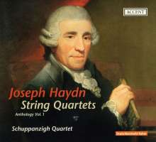 Joseph Haydn (1732-1809): Streichquartette Vol.1, CD