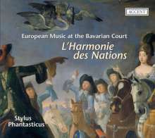 L'Harmonie des Nations - Musik am Bayerischen Hof, CD