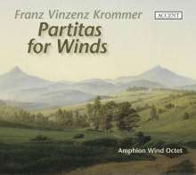 Franz Krommer (1759-1831): Oktett-Partiten für Bläser op.73,78,83, CD