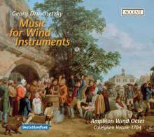 Georg Druschetzky (1745-1819): Musik für Bläser, CD