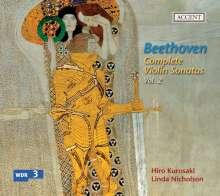 Ludwig van Beethoven (1770-1827): Sämtliche Werke für Violine & Klavier Vol.2, CD