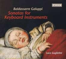 Baldassare Galuppi (1706-1785): Cembalosonaten in c,D,e (op.2 Nr.3),a,B, CD