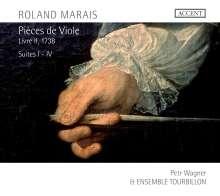 Roland Marais (1685-1750): Pieces de Viole Buch 2 (1738), CD