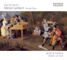 Michel Lambert (1610-1696): Airs de Cour, CD