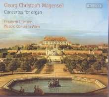 Georg Christoph Wagenseil (1715-1777): Orgelkonzerte Nr.2,3,5,6, CD