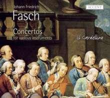 Johann Friedrich Fasch (1688-1758): Concerti für verschiedene Instrumente, CD