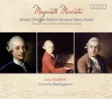 Wolfgang Amadeus Mozart (1756-1791): Cembalokonzerte KV 107 Nr. 1-3 nach Johann Christian Bach, CD