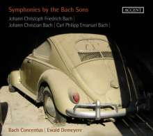 Sinfonien der Bach-Söhne, CD