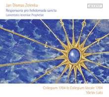 Jan Dismas Zelenka (1679-1745): Responsoria pro Hebdomada Sancta ZWV 55, 2 CDs