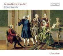 Johann Gottlieb Janitsch (1708-1763): Berliner Quartette, CD
