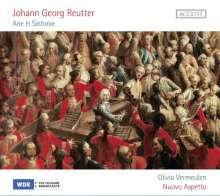 Johann Georg Reutter (1708-1772): Arie & Sinfonie, CD