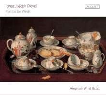 Ignaz Pleyel (1757-1831): Partiten für Bläser Es-Dur,Es-Dur,B-Dur, CD