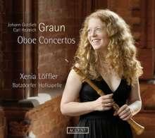 Johann Gottlieb Graun (1703-1771): Oboenkonzerte, CD