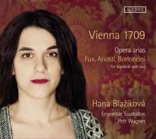 Hana Blazikova - Vienna 1709 (Opernarien für Sopran & Viola da gamba), CD