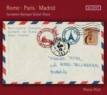 Pierre Pitzl - Rome - Paris - Madrid, CD