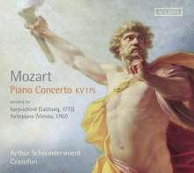 Wolfgang Amadeus Mozart (1756-1791): Klavierkonzert Nr.5 KV 175, CD