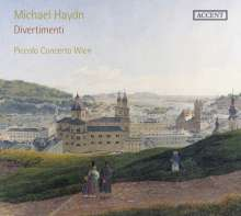 Michael Haydn (1737-1806): Divertimenti Es-Dur, C-Dur, C-Dur (P.deest, P.98, P.110), CD