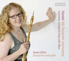 Georg Friedrich Händel (1685-1759): Konzerte, Sonaten & Arien mit Oboe, CD