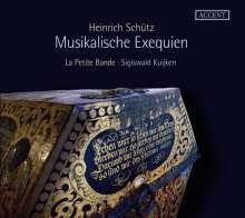 Heinrich Schütz (1585-1672): Musikalische Exequien SWV 279-281, CD