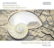 Jan Dismas Zelenka (1679-1745): Missa Divi Xaverii ZWV 12, CD